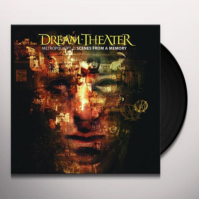 Dream Theater METROPOLIS PART 2: SCENES FROM A MEMORY Vinyl Record - Holland Import