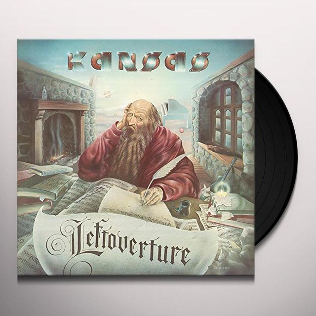 Kansas LEFTOVERTURE Vinyl Record - Holland Import