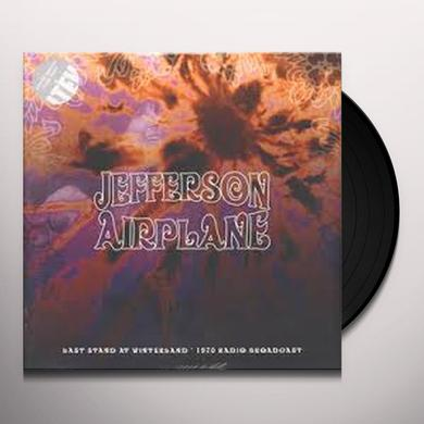 Jefferson Airplane LAST STAND AT WINTERLAND Vinyl Record - UK Import