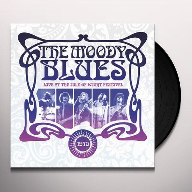 The Moody Blues LIVE AT THE ISLE OF WIGHT FESTIVAL 1970 Vinyl Record - UK Import