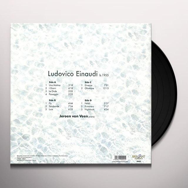 Jeroen van Veen EINAUDI: PIANO MUSIC (UK) (Vinyl)