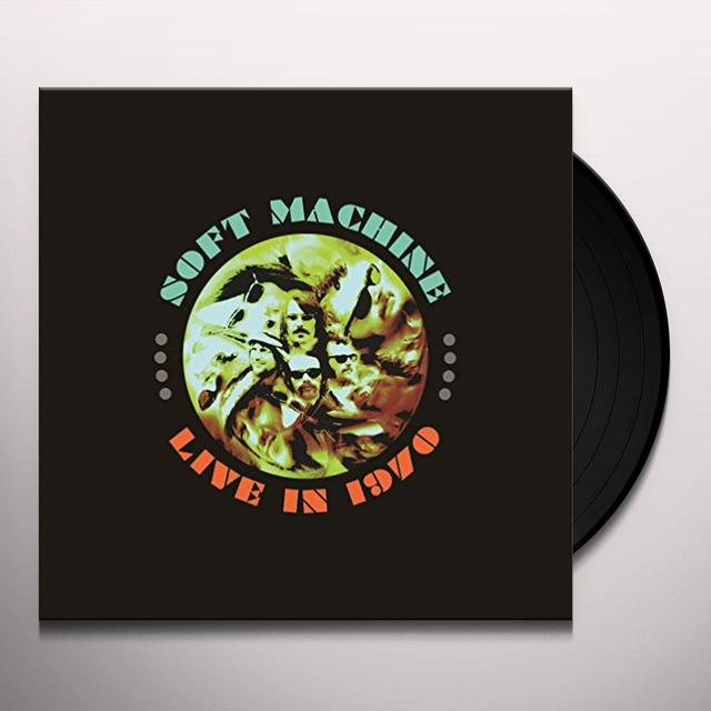 Soft Machine LIVE IN 1970: DELUXE Vinyl Record - Deluxe Edition, UK Import