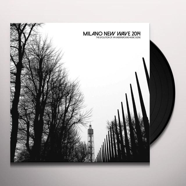 MILANO NEW WAVE 2014 / VARIOUS Vinyl Record - Italy Import