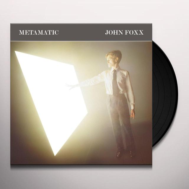 John Foxx METAMATIC Vinyl Record - UK Import