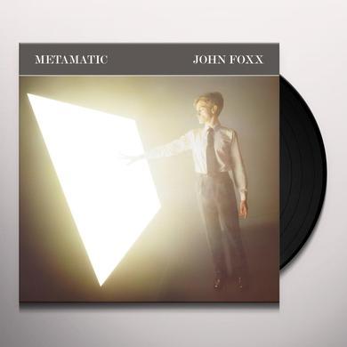 John Foxx METAMATIC Vinyl Record - UK Import