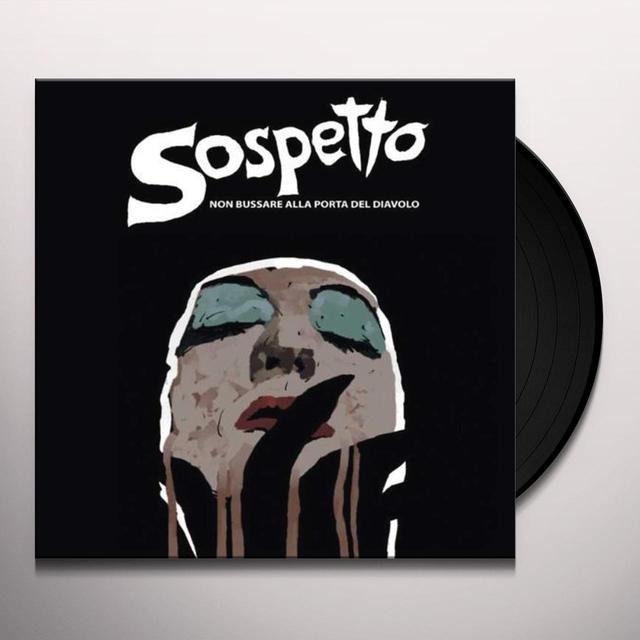 SOSPETTO (BLK) (OGV) NON BUSSARE ALLA PORTA DEL DIAVOLO / O.S.T. Vinyl Record - Black Vinyl