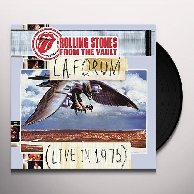 The Rolling Stones FROM THE VAULT: L.A. FORUM (LIVE IN 1975) (W/DVD) (Vinyl)