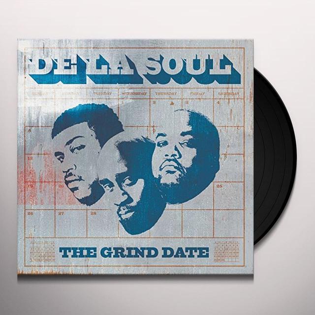 De La Soul GRIND DATE Vinyl Record