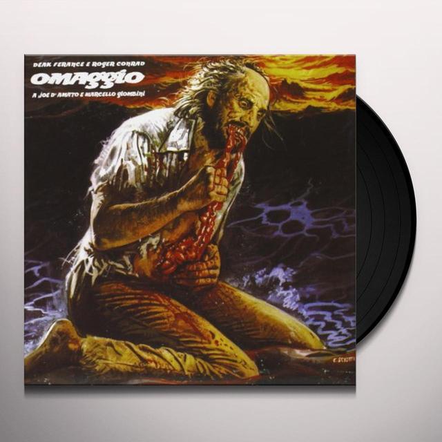Deak Ferance / Roger Conrad OMAGGIO A JOE DAMATO E MARCELLO GIOMBINI / O.S.T. Vinyl Record