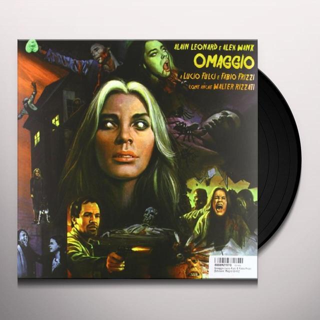 Alain Leonard / Alex Wank OMAGGIO A LUCIO FULCI E FABIO FRIZZ / O.S.T. Vinyl Record