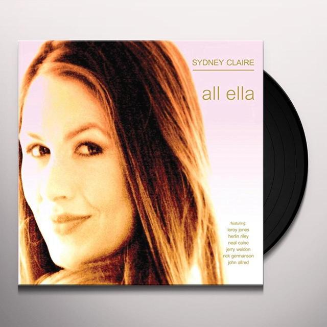 Sydney Claire ALL ELLA Vinyl Record