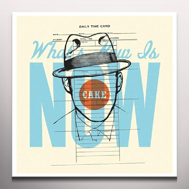 Cake WHAT'S NOW IS NOW Vinyl Record - Clear Vinyl