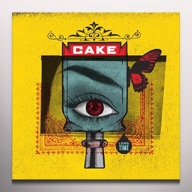 Cake LONG TIME Vinyl Record - Colored Vinyl