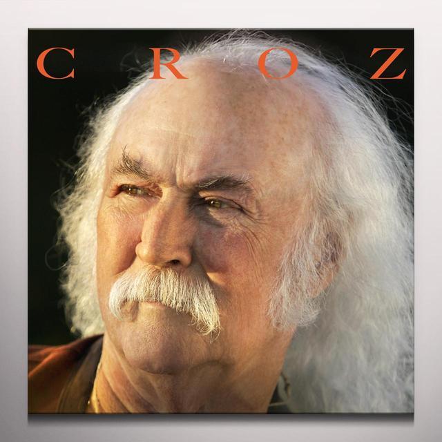 David Crosby CROZ Vinyl Record