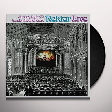 Nektar SUNDAY NIGHT AT LONDON ROUNDHOUSE Vinyl Record