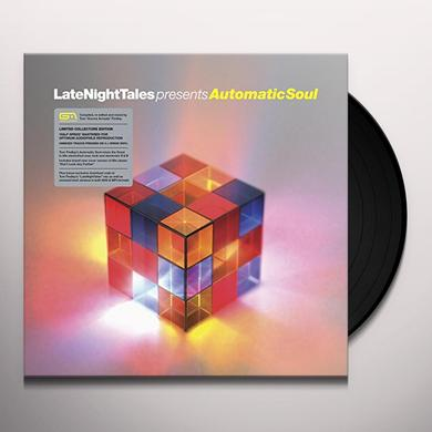 Groove Armada LATE NIGHT TALES PRESENTS AUTOMATIC SOUL Vinyl Record - Black Vinyl