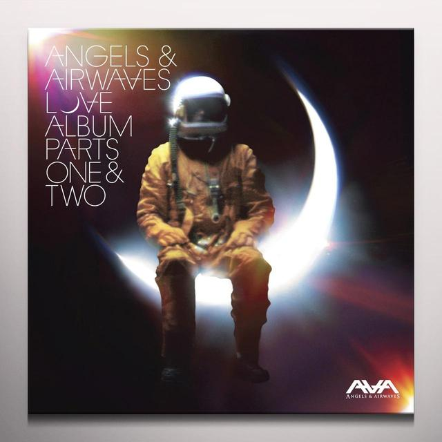Angels & Airwaves LOVE ALBUM PARTS ONE & TWO Vinyl Record - Colored Vinyl, Limited Edition, 180 Gram Pressing
