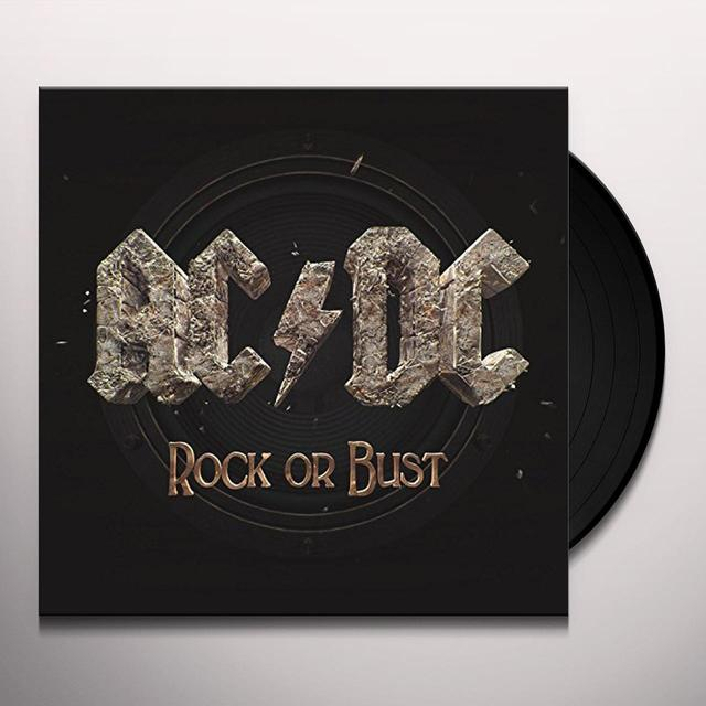 AC/DC ROCK OR BUST Vinyl Record - Gatefold Sleeve, 180 Gram Pressing
