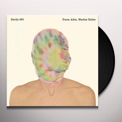 Davila 666 POCOS ANOS / MUCHOS DANOS Vinyl Record - Digital Download Included