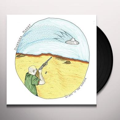 Diarrhea Planet ALIENS IN THE OUTFIELD Vinyl Record - 10 Inch Single