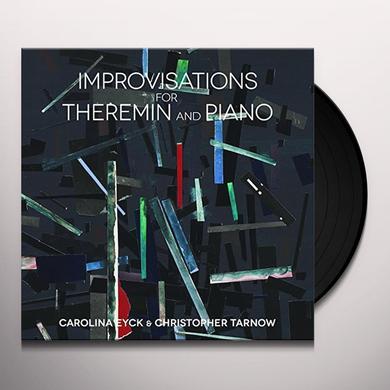 Carolina Eyck & Christopher Tarnow IMPROVISATIONS FOR THEREMIN & PIANO Vinyl Record - Gatefold Sleeve