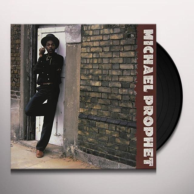 Michael Prophet GUNMAN Vinyl Record