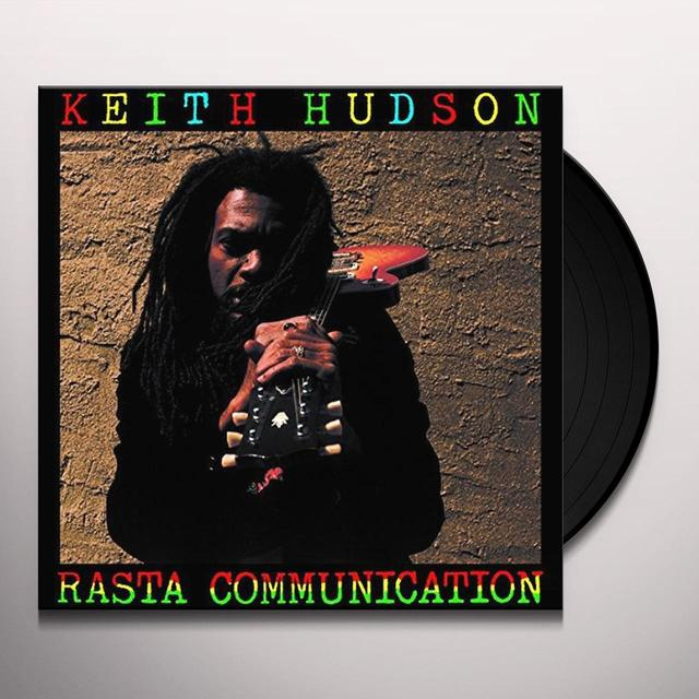 Keith Hudson RASTA COMMUNICATION Vinyl Record