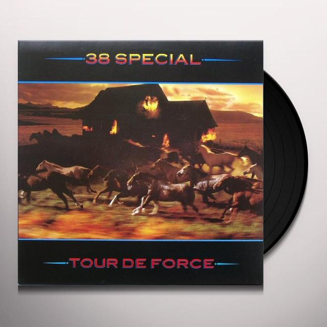 38 Special TOUR DE FORCE Vinyl Record