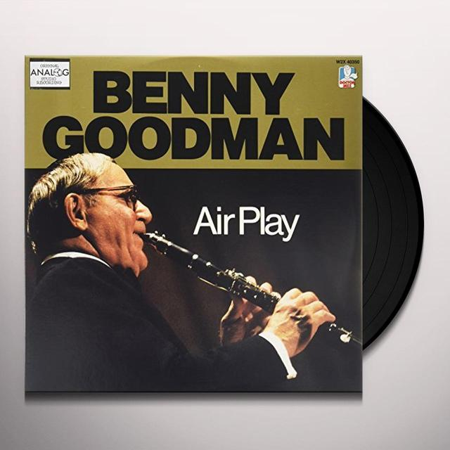Benny Goodman AIRPLAY Vinyl Record - Gatefold Sleeve