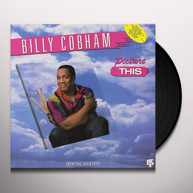 Billy Cobham & Grover Jr. Washington PICTURE THIS Vinyl Record