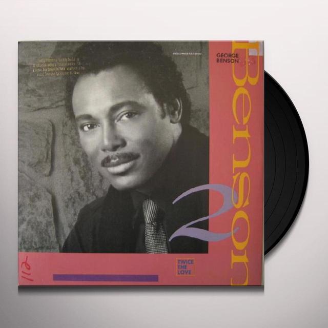 George Benson TWICE THE LOVE Vinyl Record