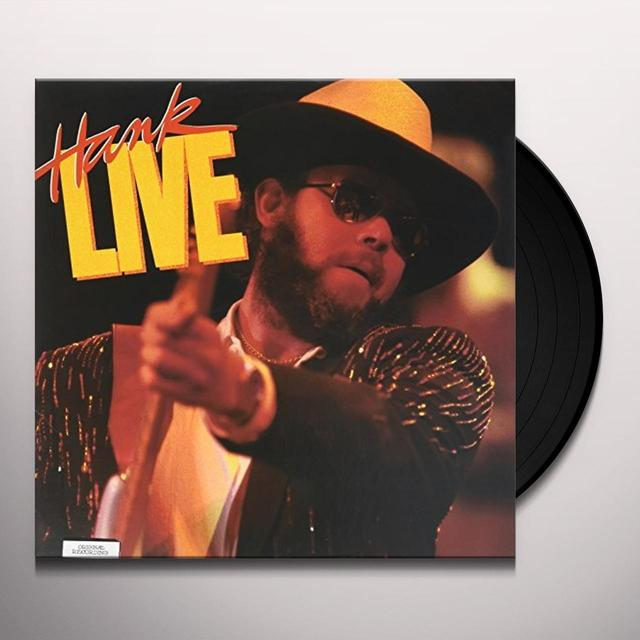 Hank Williams, Jr. LIVE (MY NAME IS BOCEPHUS: ALL MY ROWDY FRIENDS) Vinyl Record