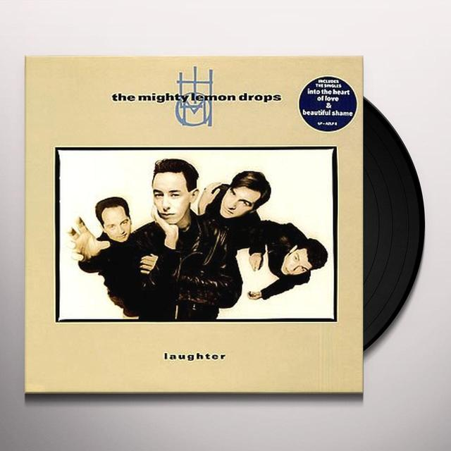 Mighty Lemon Drops LAUGHTER Vinyl Record