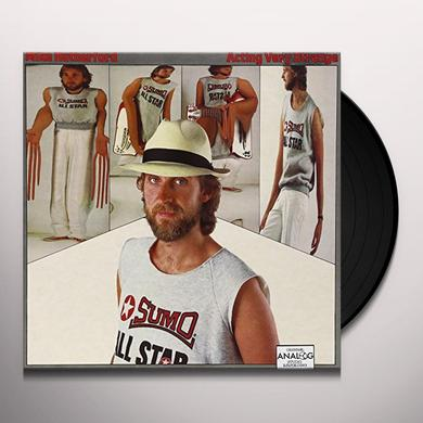 Mike Rutherford ACTING VERY STRANGE Vinyl Record