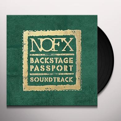 Nofx BACKSTAGE PASSPORT SOUNDTRACK Vinyl Record