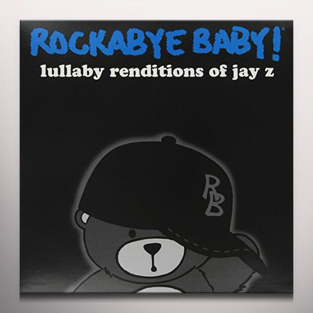 Rockabye Baby!  LULLABY RENDITIONS OF JAY Z Vinyl Record - Colored Vinyl, Limited Edition, Digital Download Included