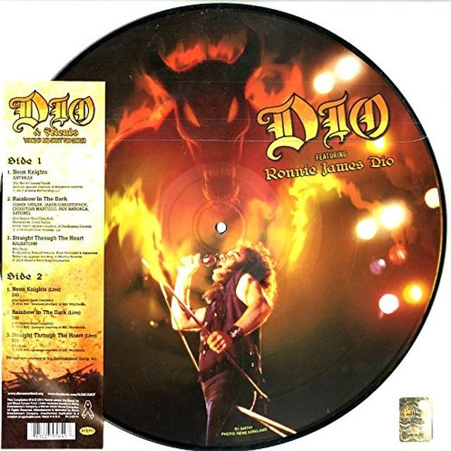 Ronnie James Dio / Dio & Friends DIO & FRIENDS STAND UP & SHOUT FOR CANCER Vinyl Record - Picture Disc