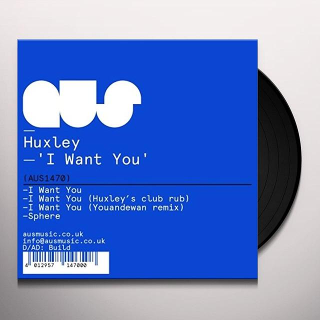 Huxley I WANT YOU Vinyl Record