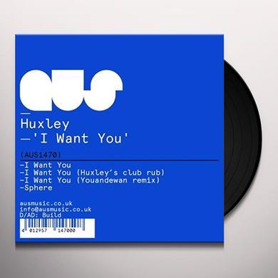 Huxley I WANT YOU Vinyl Record