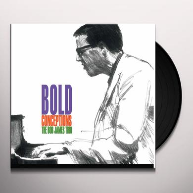 Bob James BOLD CONCEPTIONS Vinyl Record