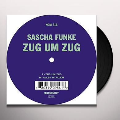 Sascha Funke ZUG UM ZUG Vinyl Record