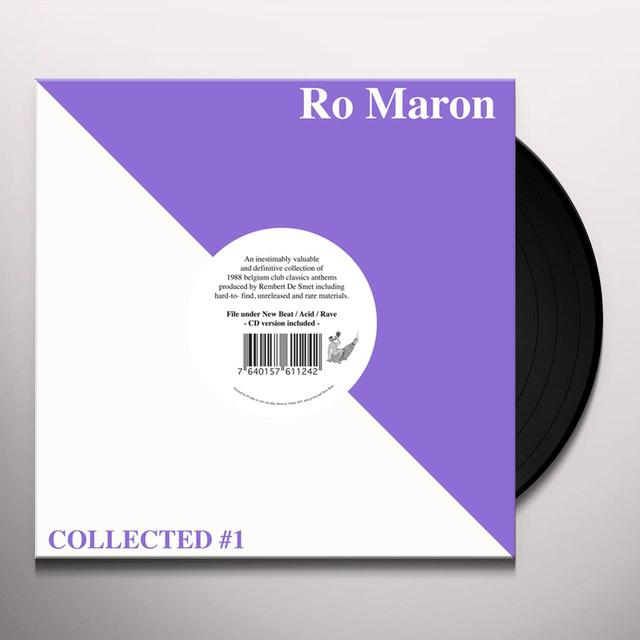 Ro Moran COLLECTED 1 Vinyl Record - w/CD