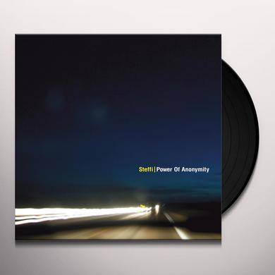 Steffi POWER OF ANONYMITY Vinyl Record