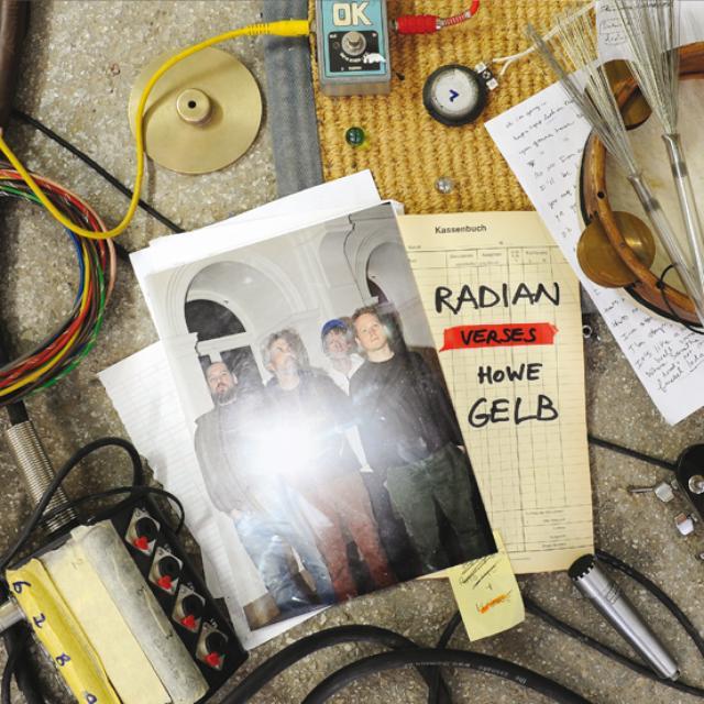Radian / Howe Gelb RADIAN VERSES HOWE GELB Vinyl Record