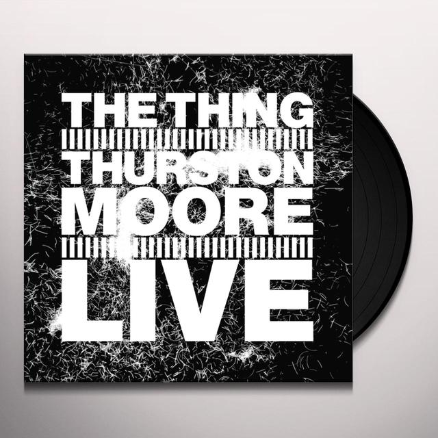 THING WITH THURSTON MOORE LIVE Vinyl Record