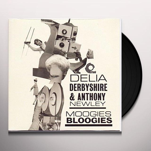 Delia Derbyshire / Anthony Newley MOOGIES BLOOGIES Vinyl Record
