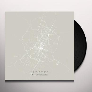 Ryan Teague BLOCK BOUNDARIES Vinyl Record - Black Vinyl, 180 Gram Pressing, Digital Download Included