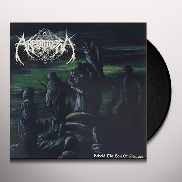 AKROTHEISM BEHOLD THE SON OF PLAGUES Vinyl Record - UK Import