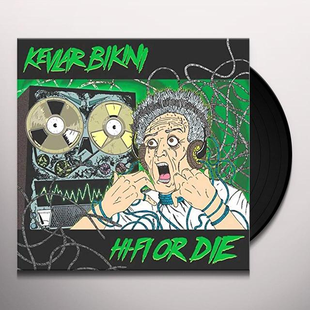 KEVLAR BIKINI HI-FI OR DIE Vinyl Record - UK Import