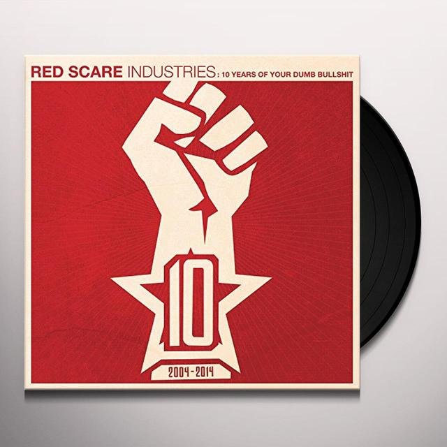 RED SCARE INDUSTRIES: 10 YEARS / VARIOUS Vinyl Record